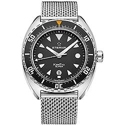 Eterna–Reloj de pulsera hombre super kontiki Fecha Analógico Automático 1273.41.40.1718