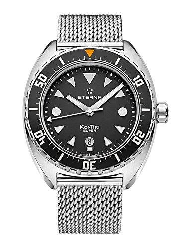 Eterna Men's Automatic Watch Kontiki Date Analogue 1273.41.40.1718