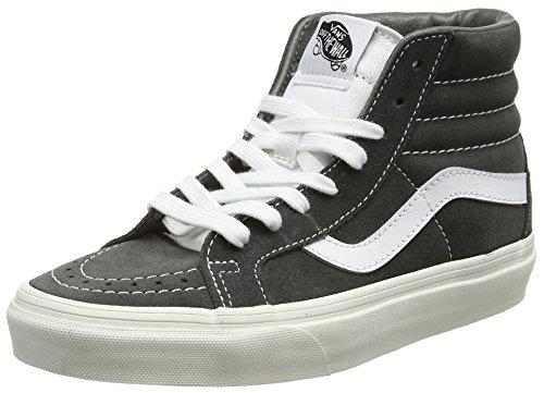 Vans Unisex-Erwachsene Sk8-Hi Reissue Hohe Sneakers, Grau (Gunmetalretro Sport), 43 EU (High-top-sneaker Retro)