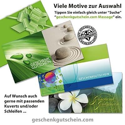50 Stk. Geschenkgutscheine für Kosmetik, Massage, Wellness, Spa MA1227