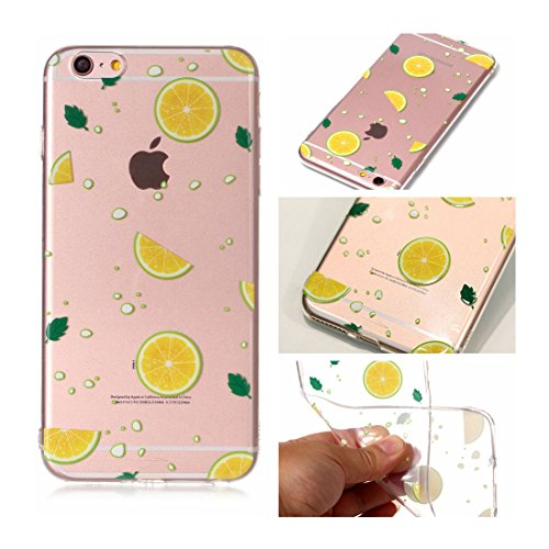 iPhone 6s Custodia, Cartoon Dente di leone - TPU Silicone Trasparente Nuovo Gel Soft Case iPhone 6/ 6S Custodia 4.7 durevole Cartoon Cover, Prova di scossa anti-graffio # # 9