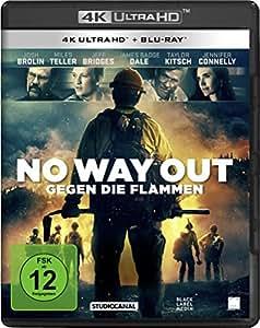 No Way Out - Gegen die Flammen  (4K Ultra-HD) (+ 2D-Blu-ray)