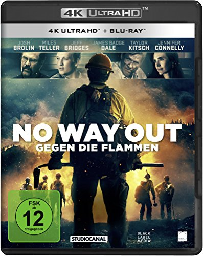 No Way Out - Gegen die Flammen (4K Ultra-HD) (+ 2D-Blu-ray)