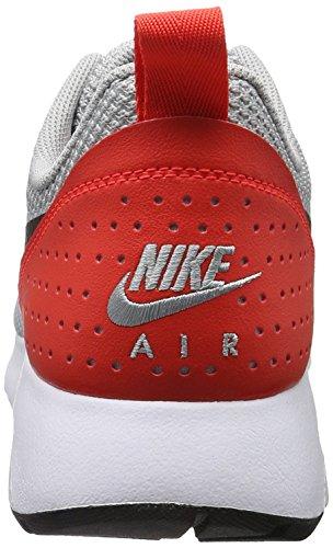 Nike Herren Air Tavas Sneakers Grau (Wolf Grey/Black-Max Orange)