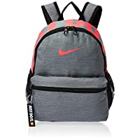 Nike Kids' Brasilia JDI Mini Backpack, Cool Grey/Racer Black, 33 x 25.5 x 10 cm (BA5559-065)