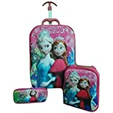 Ratna International Kids Trolley Luggage Suitcase Bag For Girls