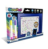 Mindscope Light Up LED GLOW PAD BLUE Animator with Glow Markers by Mindscope