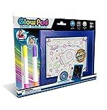 Mindscope Light Up LED GLOW PAD BLUE Animator with Glow Markers by Mindscope