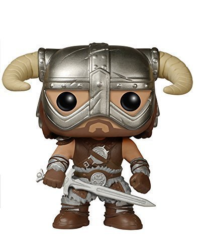 FunKo POP Games: Skyrim - Dovahkiin Toy Figure by Pro-Motion Distributing - Direct by Pro-Motion Distributing - Direct