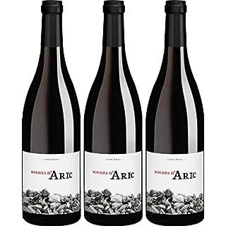 Biowein Roches d'Aric Corbières AOP Carignan 2014 trocken (3 x 0.75 l)