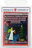 Augusto hobby casting decorazioni di Natale, motivo: angelo con stella e albero di Natale con regali