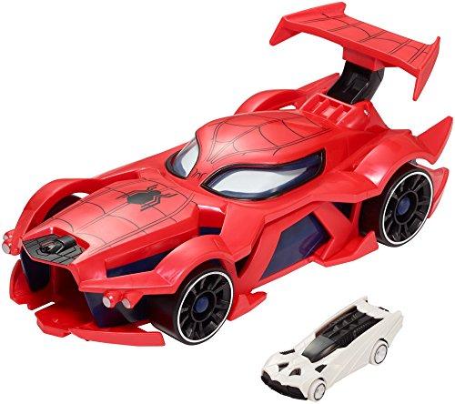Mattel Hot Wheels fgl45–Marvel Spiderman Mega auto Starter
