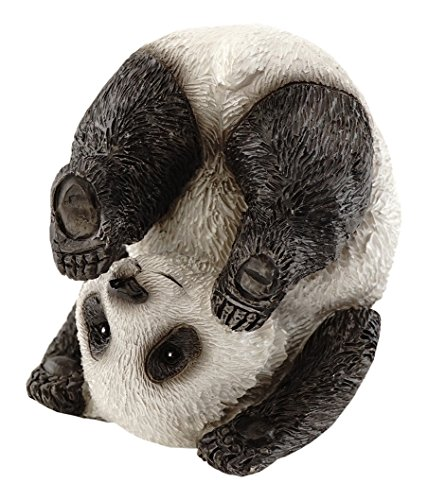 Top Kollektion Miniatur-Fairy Garden und Terrarium niedliche Yoga panda-plow Pose Figur