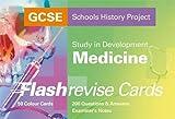 GCSE SHP Study in Development - Medicine Flash Revise Cards