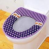 TLood Home Toilettendeckel Sitz Deckel Pad Badezimmer Matte Protector Coole Weiche Warme Matte