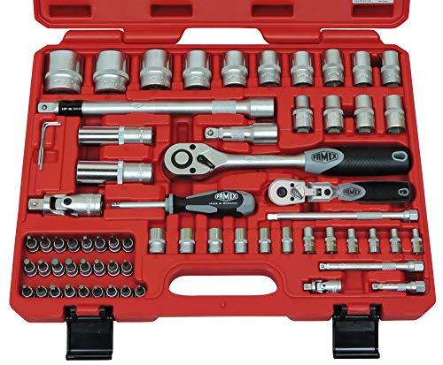 Famex 580-SD-21 Mechaniker Steckschlüsselsatz 66 tlg.