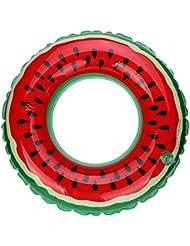 Sansee HOT Swimming Pool Inflatable Watermelon Swim Ring Adult Fruit Swim Ring
