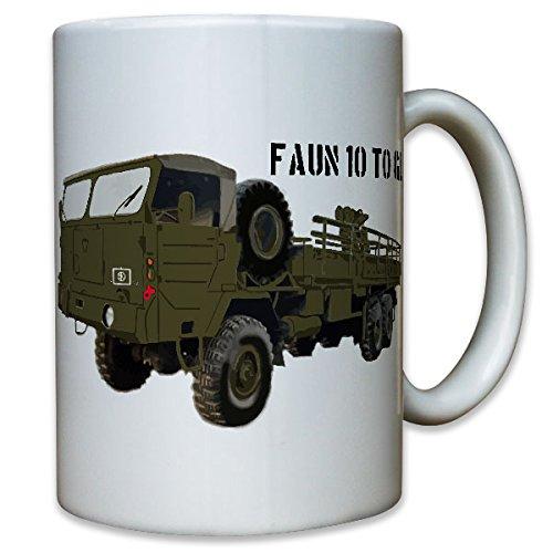 10to GL Bundeswehr Faun camion BW Bund Oldtimer militare veicolo-Tazza Caffè # 8916