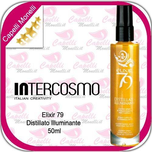 INTERCOSMO Elixir 79destilliert erhellende 50ml parfümiertes Spray Glitter-Haar
