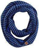 s.Oliver Jungen Schal 64.808.91.3778, Blau (Dark Blue Stripes 58g2), One Size (Herstellergröße: 1)