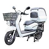 ECONNECT ZG-08 Motocicleta eléctrica Blanco Batería de litio 60V26AH 5 HORAS