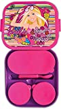 Barbie D2 XL Plastic Lunch Box, Pink