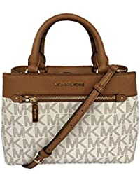 a8c846a9d5 Michael Kors Women s Hailee Xsmall Satchel Leather Handbag (35S8GX2S1B)
