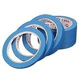 EsportsMJJ 30M Blau Masking Tape Hoch Temperaturbeständige Klebebänder 6-12-20-50 Mm - 12Mm