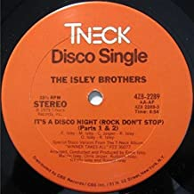 It's A Disco Night (Rock Don't Stop) (Parts 1 & 2) / Ain't Givin' Up No Love