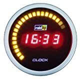 Raid HP 660542 Zusatzinstrument Uhr Serie Night Flight Digital Red