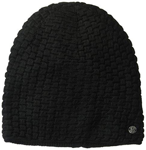 Spyder Damen Merino Hüte, damen, schwarz (Metall-ski-socke)