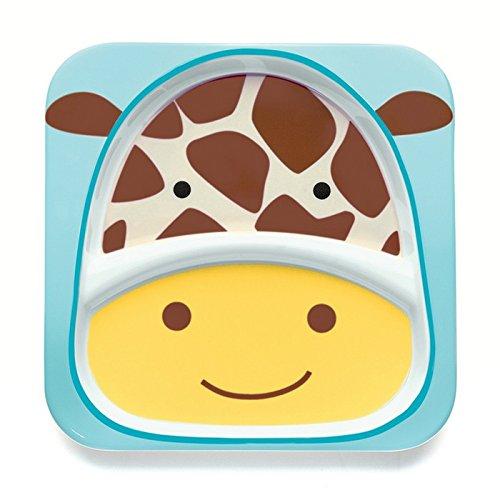 Skip Hop SKI-ZOO-PLATE-GIRAFF Teller, Motiv Giraffe