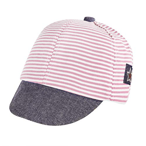 Gorra de béisbol a Rayas para recién Nacido