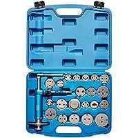 KRAFTPLUS® K.211-1422 Juego de reposicionador para pistones de freno con pistola neumático - 22 piezas