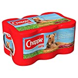 Chappie Dog Food Tins Favourites 6x412g