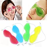 #6: 2pcs Ice cool Eyepad Sleeping Mask Cover Cold Relaxing Soothing eyes care Gel Mask health care