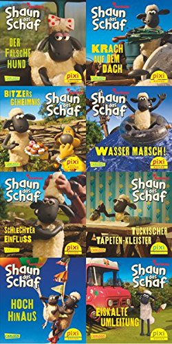 Pixi-8er-Set 228: Shaun das Schaf ist nicht zu bremsen (8x1 Exemplar)