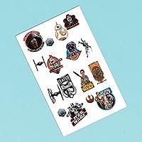 Sentite il potere della Forza quando si mette su uno di questi episodio di Star Wars Il Potere della Forza VII Awakens tatuaggi. Ogni quadrato è dotato di due Star Wars tatuaggi. Goccia tesi tatuaggi temporanei in goodie bags per un divertime...