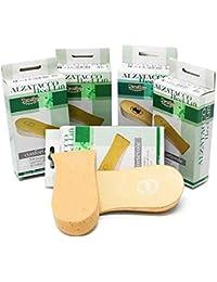 Alzatacco lungo in sughero e pelle per scarpe basse scomode e per uso  ortopedico 767663a7078