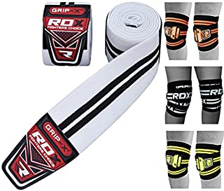 RDX Knee Wraps Weight Lifting Bandage Straps Guard Powerlifting Pads Sleeves Gym (B0060T7X5K) | Amazon price tracker / tracking, Amazon price history charts, Amazon price watches, Amazon price drop alerts