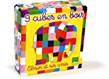 Vilac Wooden Elmer Blocks Jigsaw Puzzle