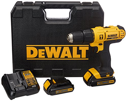 DEWALT DCD776S2 18V Lithium-Ion 13mm Hammer Drill/Driver