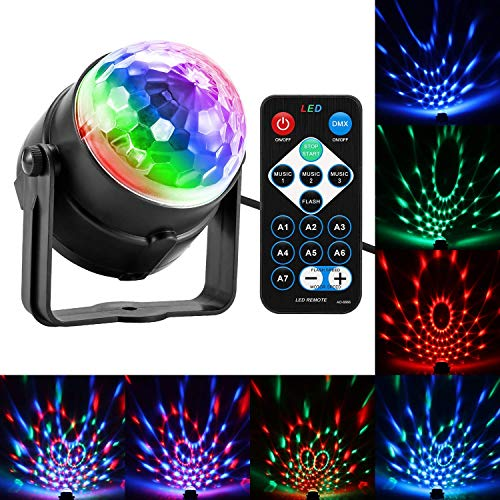 Portable Speakers Reliable Ufo Disco Dj Party Bluetooth Speaker Built-in Light Show Stage Effect Lighting Rgb Color Changing Led Crystal Ball Support Tf