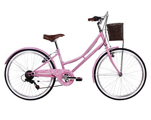 Kingston Girl Delight Bike, Soft Pink, 24-inch