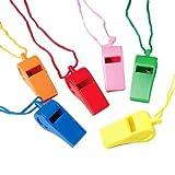 Whistles W/Lanyards