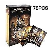 Las cartas del tarot de Deviant moon: 78 piezas de cartas de imágenes de tarot evocativas especiales (edición en inglés)