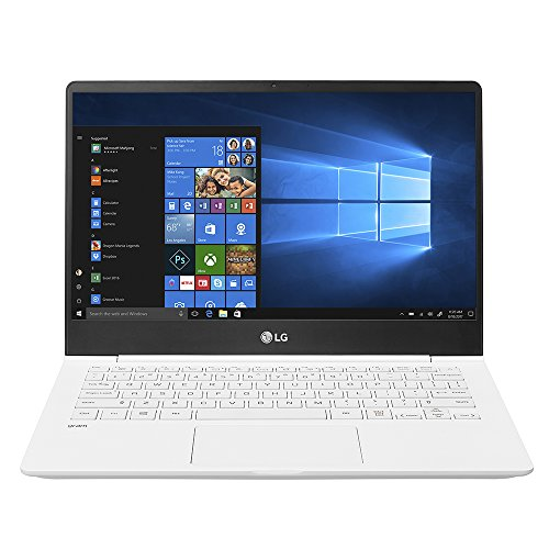 LG Gram Thin 13Z980-U.AAW5U1 Laptop (Windows 10, 8GB RAM, 256GB HDD, Intel Core i5, White, 13.3 inch)