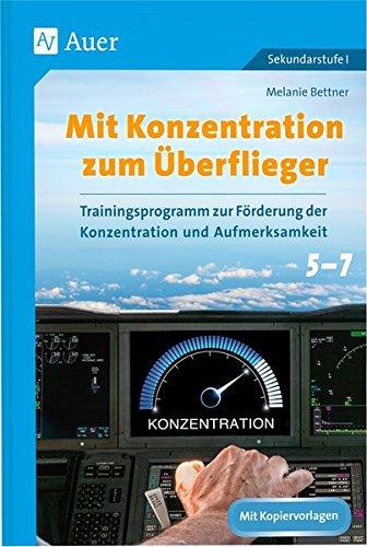 Mit Konzentration zum Überflieger: Trainingsprogramm gebraucht kaufen  Wird an jeden Ort in Deutschland