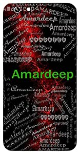 Amardeep (Eternal Light) Name & Sign Printed All over customize & Personalized!! Protective back cover for your Smart Phone : Samsung Galaxy E-7