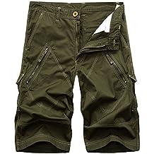 Cycorld Outdoor Cilindro de pantalón Corto para Hombre ba058cd4604d